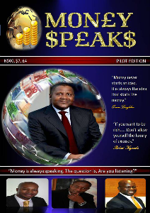 MONEY SPEAKS 3 NOVEMBER 2013