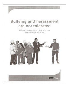 Office Bullying and Harassment Policy