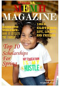 My Education Is My Hustle Magazine November 2013