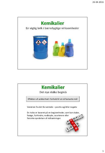 2016 - Kemikalier - Avichem