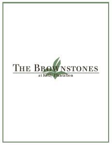 Brownstones at Kelly Plantation Fall 2013