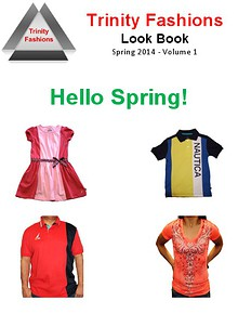 Trinity Fashions Spring Book