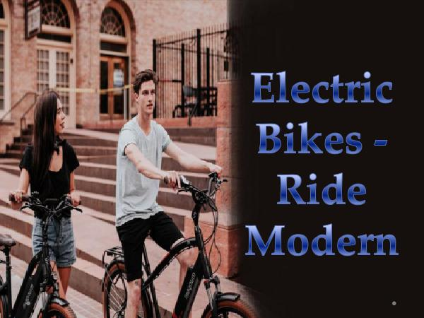 E-bike products and scooters Electric Bikes - Ride Modern