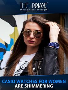 Casio Watches for Women are Shimmering