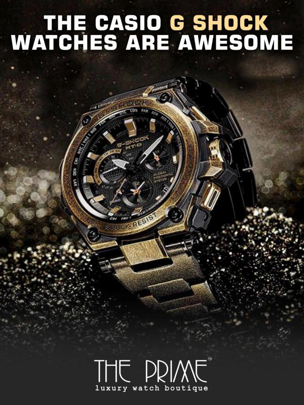 The Casio G Shock Watches are Awesome The Casio G Shock Watches are Awesome