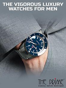 The Vigorous Luxury Watches for Men