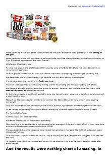 Adam Johnson: EZ Flat Belly PDF eBook Free Download