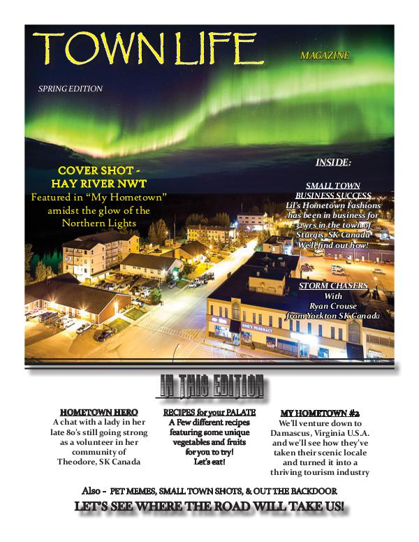 Town Life Magazine Spring Edition