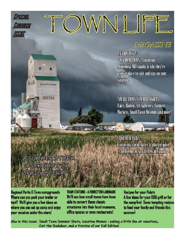 Town Life Magazine Town Life Special Summer Edition