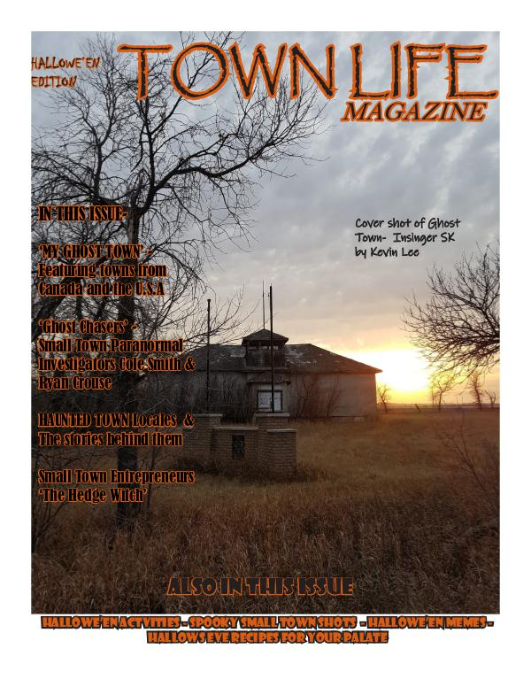 Town Life Magazine Town Life Spooky Edition