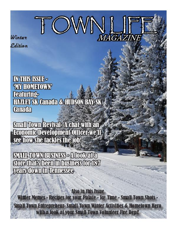 Town Life Magazine Town Life Winter Edition