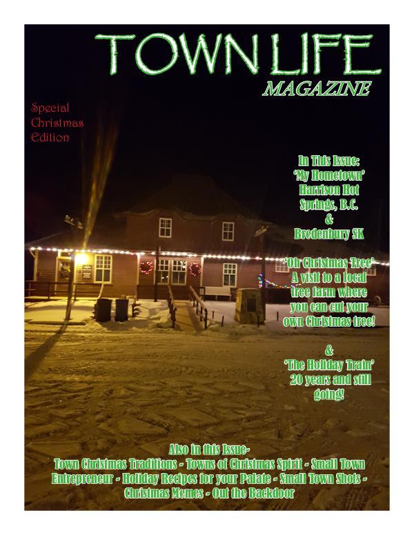 Town Life Magazine Town Life Christmas Edition