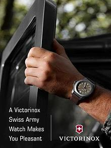 A Victorinox Swiss Army Watch Makes You Pleasant