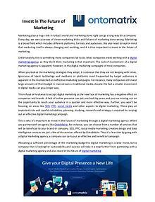 Digital Marketing Agency   SEO   AdWords   Social Media   Ontomatrix