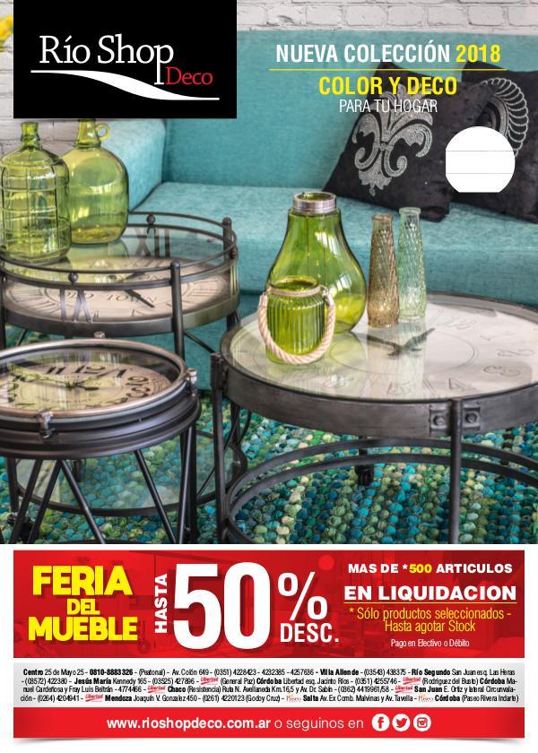 Rio Shop Deco (Catalogo Abril 2018) Rio Shop Deco (Catalogo Abril 2018)