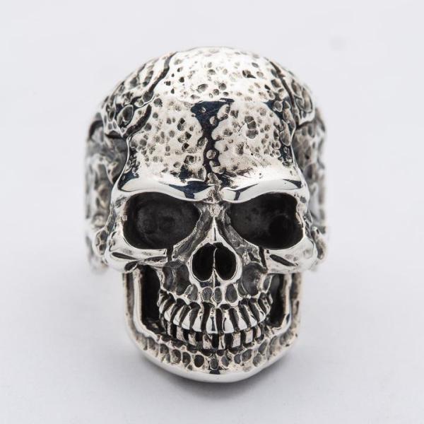 Silver Tough Skull Ring Silver Tough Skull Ring