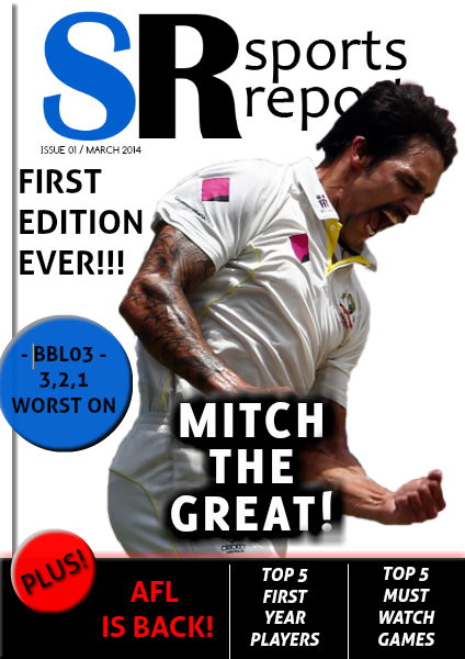 Sports Report March 2014
