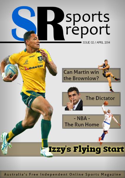 Sports Report April 2014
