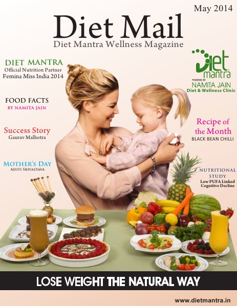 Diet Mail Diet Mail - May 2014, Mother's Day Special