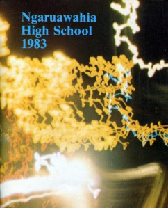 Ngaruawahia High School Yearbook 1983