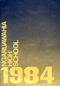 Ngaruawahia High School Yearbook 1984