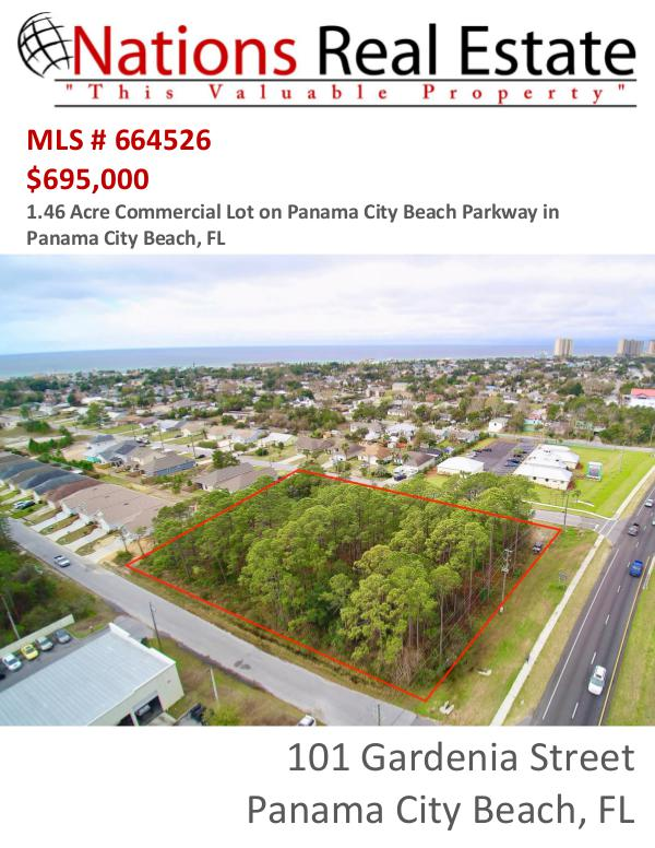 Nations Real Estate Portfolio of Properties 101 Gardenia Street, Panama City Beach, FL