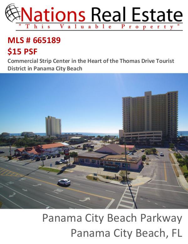 Nations Real Estate Portfolio of Properties 8721 Thomas Drive, Panama City Beach, FL