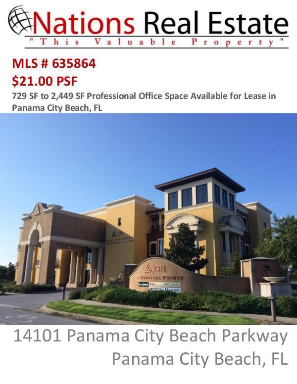Nations Real Estate Portfolio of Properties Nautilus Pointe, Panama City Beach, FL