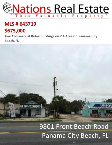 Nations Real Estate Portfolio of Properties 9801 Front Beach Road