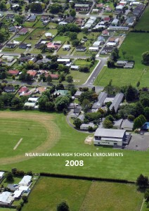 Ngaruawahia High School Enrolments 1963-2012 Ngaruawahia High School Enrolments 2008