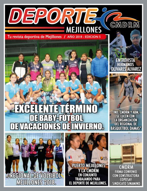Deporte Mejillones - Edición 5 revista julio para impresion emelnor