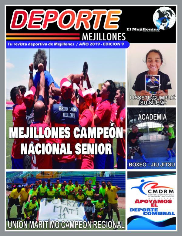 Deporte Mejillones - Edición N°9 revista diciembre por  el mejillonino