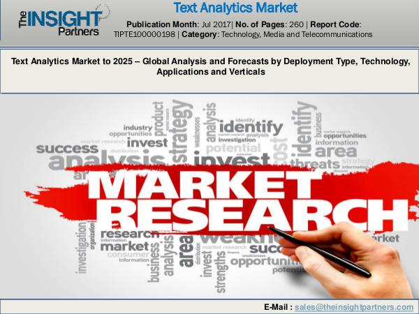 Text Analytics MarketResearch Report 2018-2025