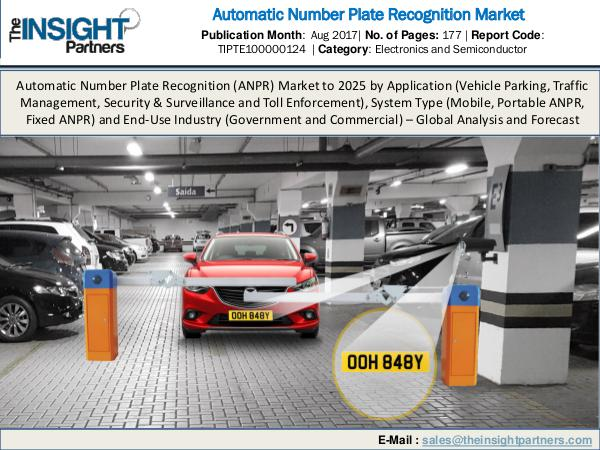 Automatic Number Plate Recognition Market