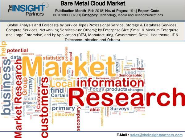 Bare Metal Cloud Market Report 2018