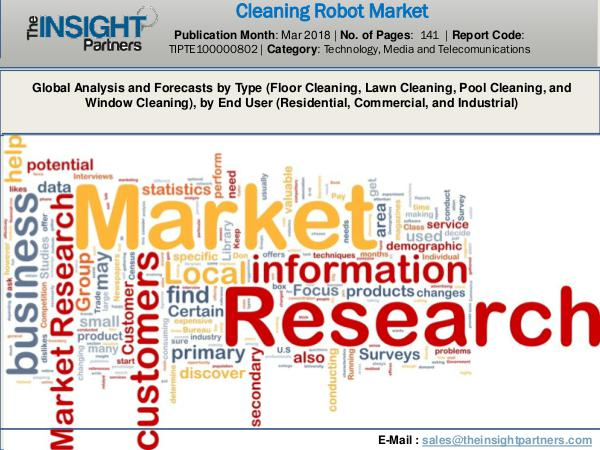 Cleaning Robot Market Market 2018-2025