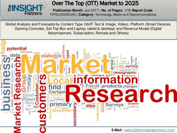 World Over The Top (OTT) Industry Research Report