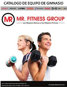 CATALOGO MR FITNESS GROUP 2018