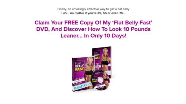 Danette May Flat Belly Fast DVD Danette DVD Download