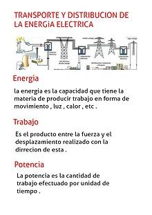 TRANSPORTE Y DISTRIBUCIÓN DE LA ENERGÍA ELÉCTRICA