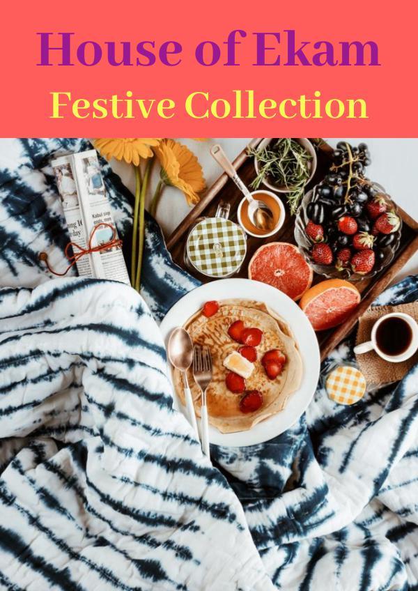 House of Ekam Festive Collection House of Ekam Festive Collection