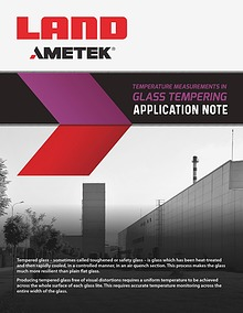 Application Note: Glass Tempering
