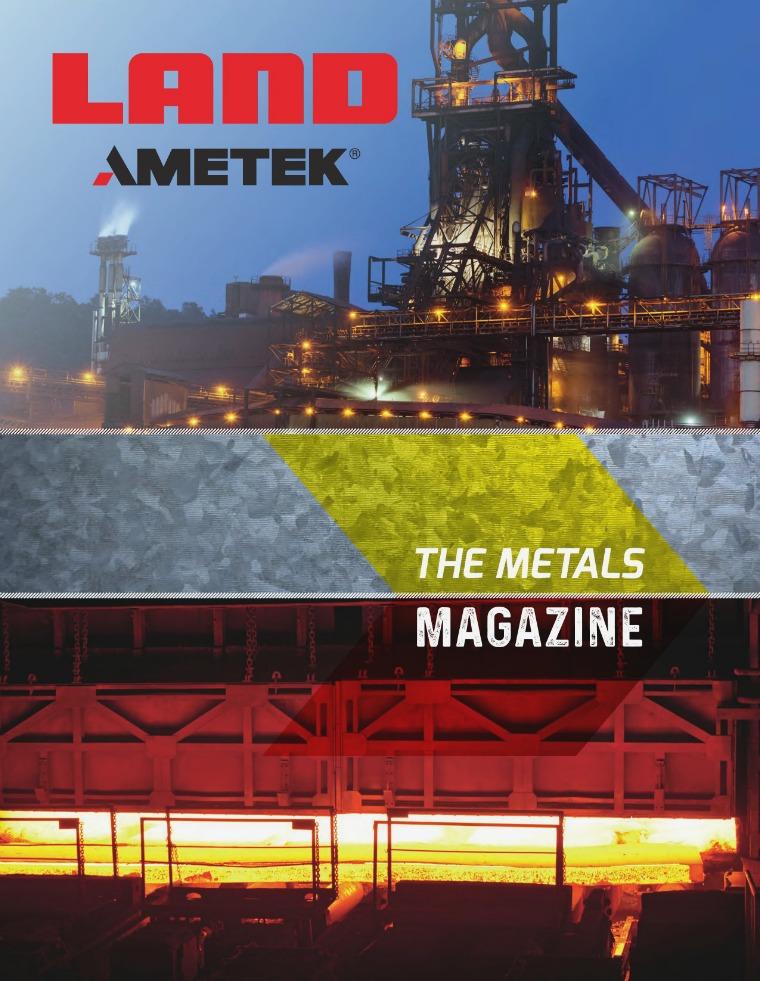 The Metals Magazine AMETEK_Land_Metals_Magazine_Rev_1_EN_001
