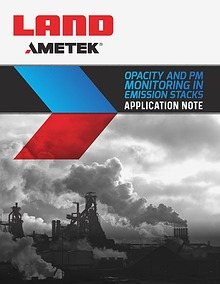 Opacity and Pm Monitoring in Emission Stacks