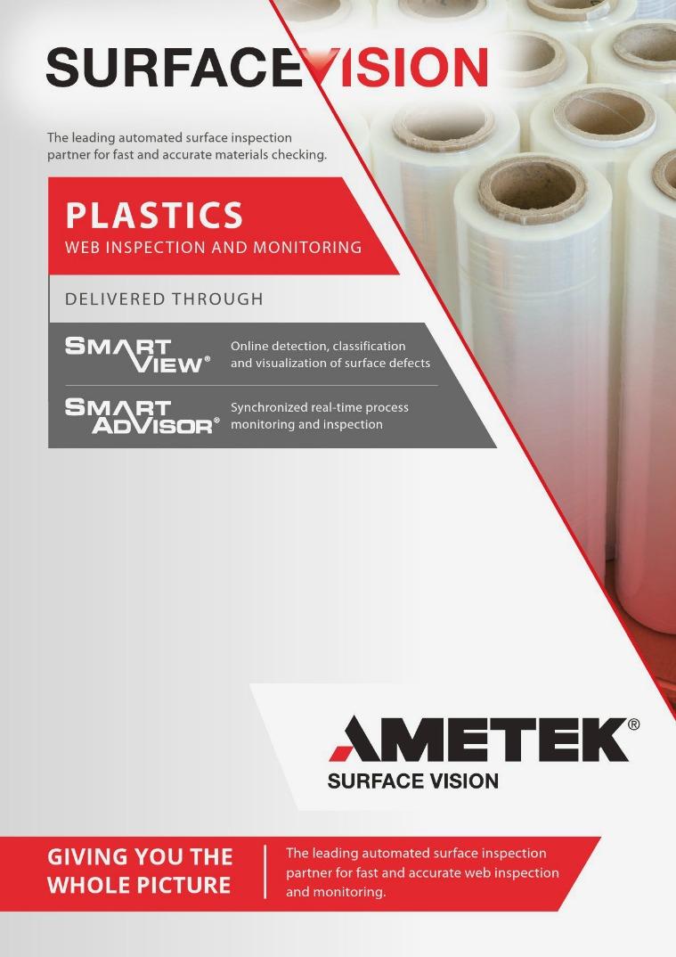 AMETEK Surface Vision - Plastics Web Inspection and Monitoring AMETEK_Surface_Vision_VIS-020_Plastics_brochure_Re