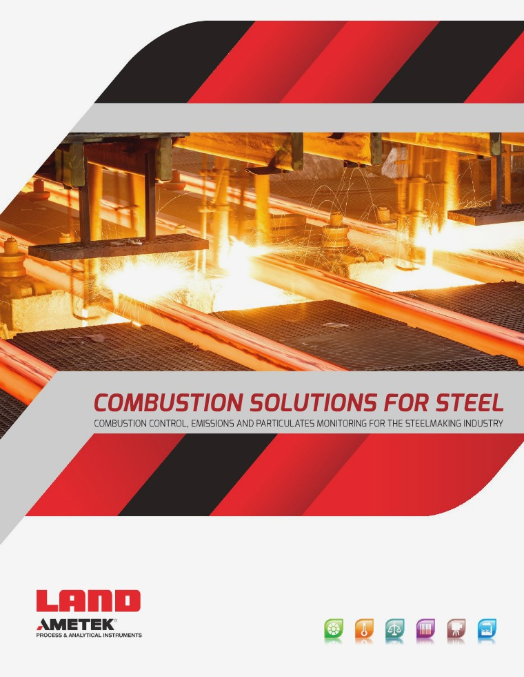 Combustion Solutions For Steel ametek_pai_combustion_solutions_steel_brochure_rev