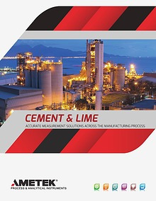AMETEK Land - Cement and Lime Accurate Measurement Solutions