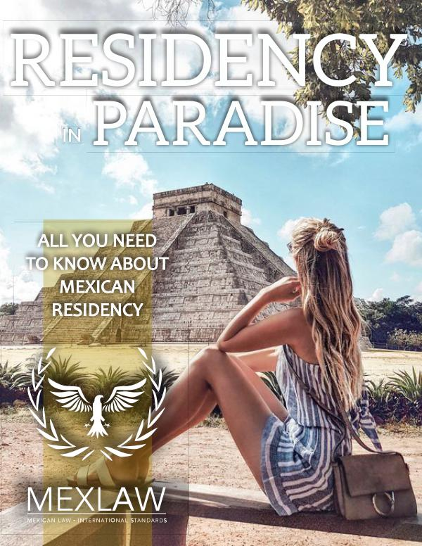 Residency in Mexico Recidency in Mexico