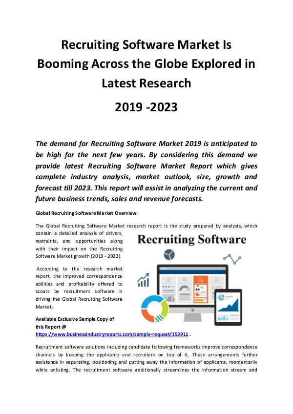 Global Recruiting Software Market Analysis by Size