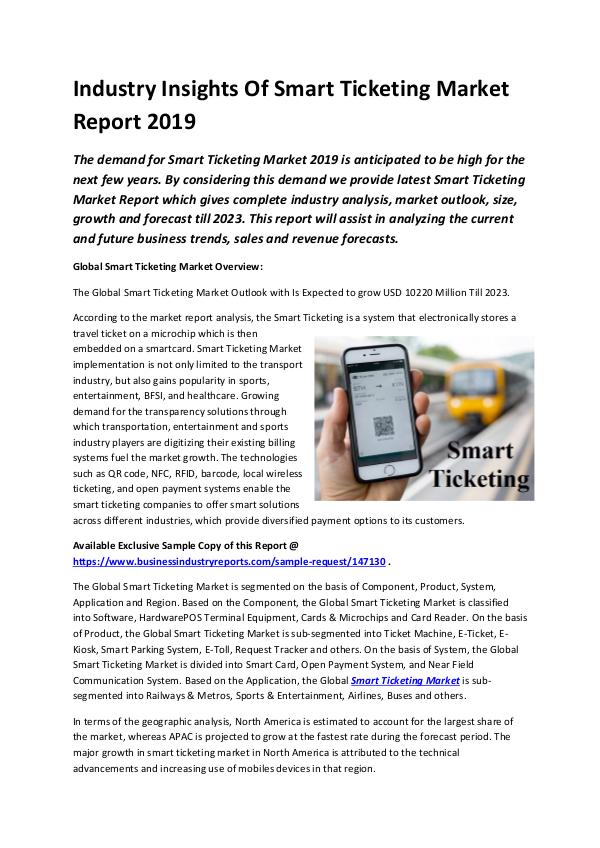 Global Smart Ticketing Market Report 2019-converte